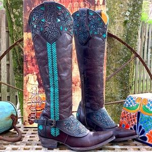 OLD GRINGO NWB Aster Tooling Tall Knee High Boots